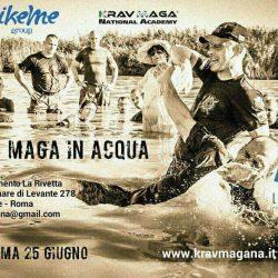 Krav Maga in Acqua Roma – 25 giugno 2017