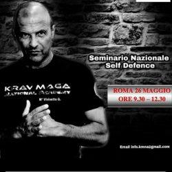 Seminario Nazionale Self defence – 26 Maggio 2019 – Roma